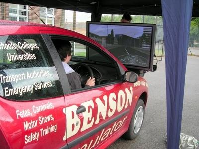 Drink-driving simulator unveiled by Braintree driving instructors