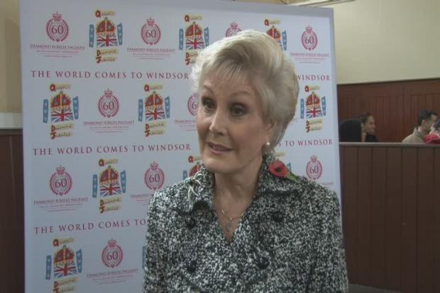 Alzheimer's Society ambassador Angela Rippon