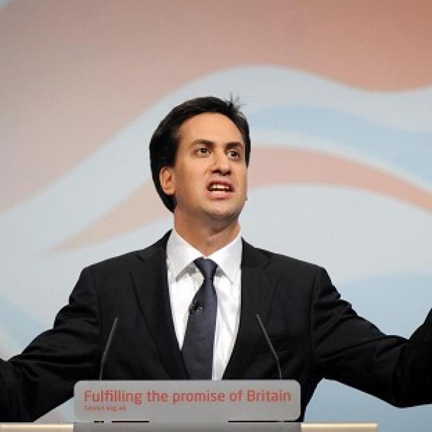 The Labour leader Ed Miliband has steered clear of condemning public sector worker strike action