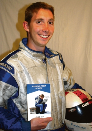 Witham: Racer Eddie becomes published author