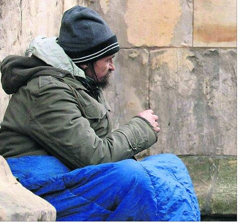 Council taking action to help growing number of homeless people