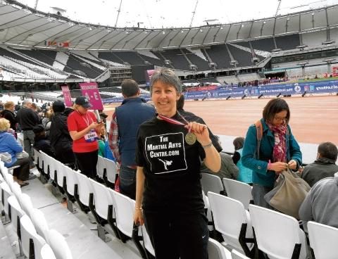 Braintree: Mum makes history in Olympic Park Run
