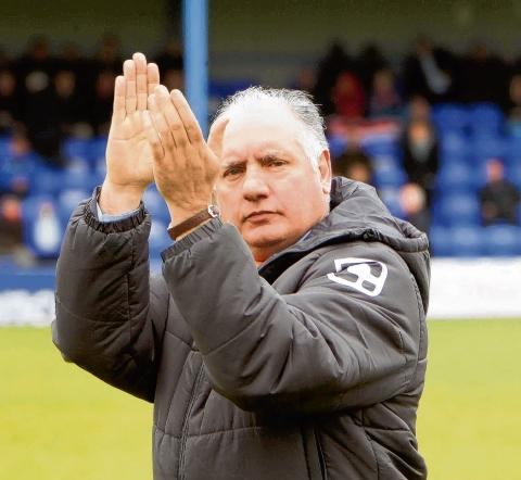 Devonshire pleased as Tranmere come out of the hat