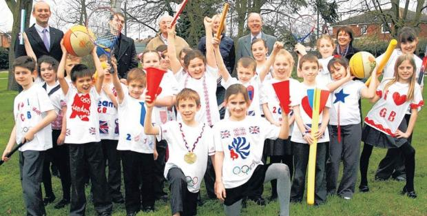 Pupils at St Andrew's Junior School are looking forward to the torch's arrival