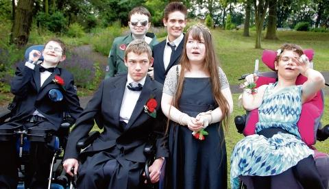 Witham: Pupils head down the red carpet for movie themed prom
