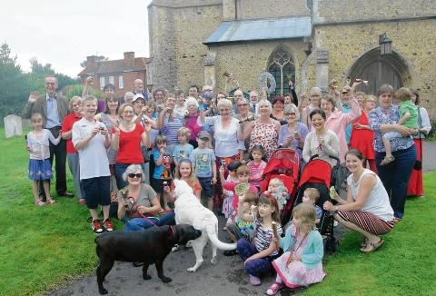 Witham: Church celebrates Olympics with bell ringing