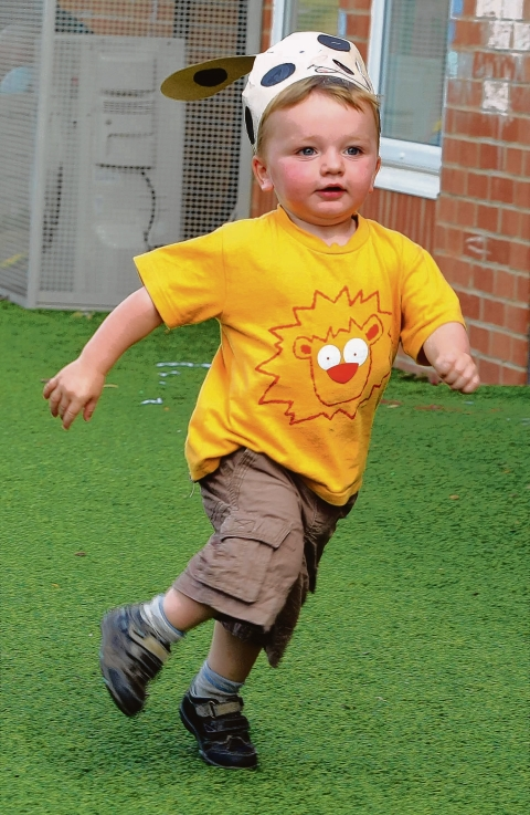 Witham: Olympic-themed fun at nursery sports day