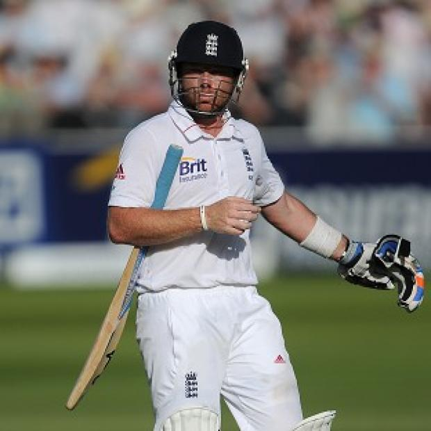 Ian Bell wished he could have lasted longer as he moved back up the England order to number four