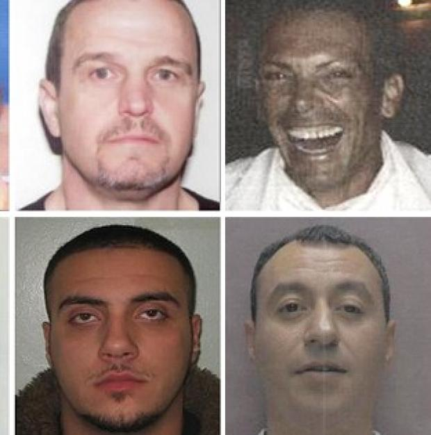 The Serious Organised Crime Agency has released details of suspects on a 'most wanted' list and thought to be hiding in Cyprus (Soca/PA)