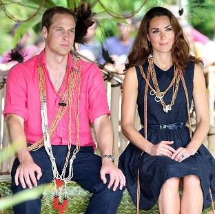 The Duke and Duchess of Cambridge continue to tour the South Pacific while a French court banned further publication of topless photos