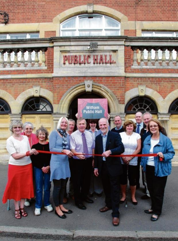 Witham Public Hall was taken over by trustees a year ago