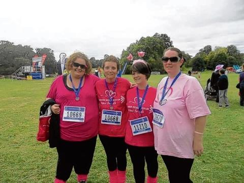 Witham: Cancer sufferers unite for Race for Life