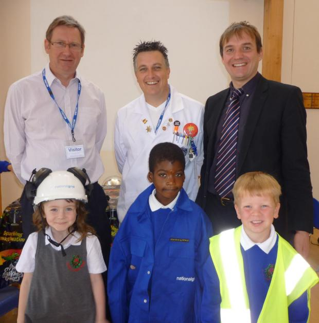 Braintree: National Grid put on mad science show for schoolchildren