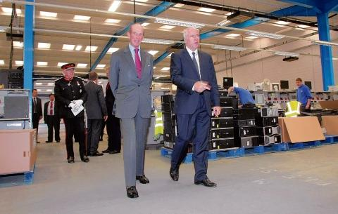 Braintree: Braintree business welcomes royal visitor