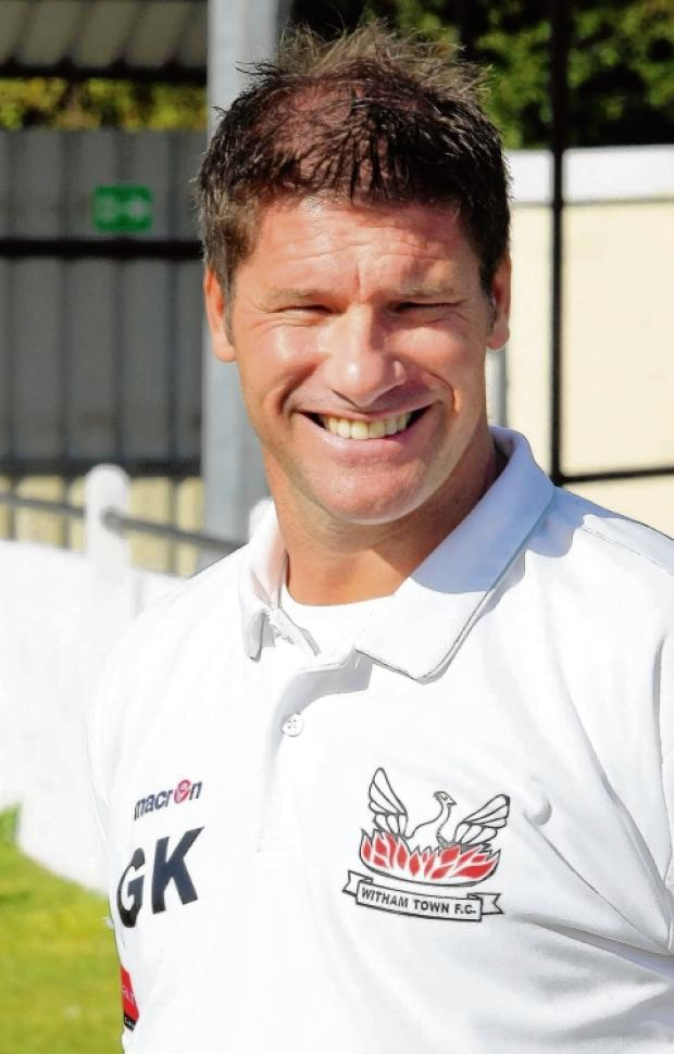 Kimble is pleased with preparations as Witham Town look for a happy return