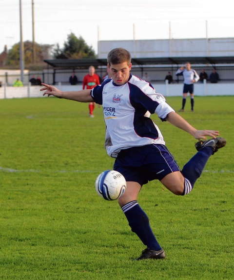 Rob Whitnell finally got the goal that Witham's play deserved at Soham Town Rangers.