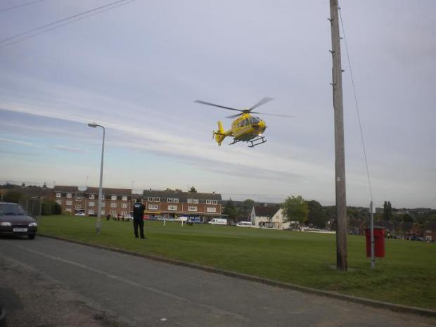 Braintree: Air ambulance called to skate park