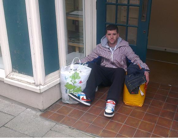 Braintree: Council can't help man forced to sleep rough