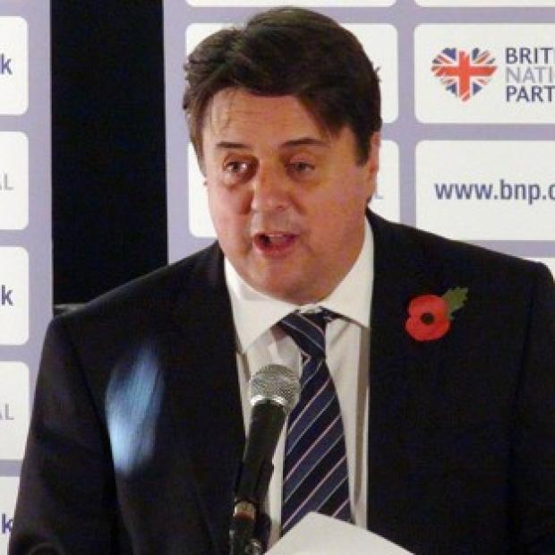 BNP leader and North West MEP Nick Griffin's Twitter account has been suspended