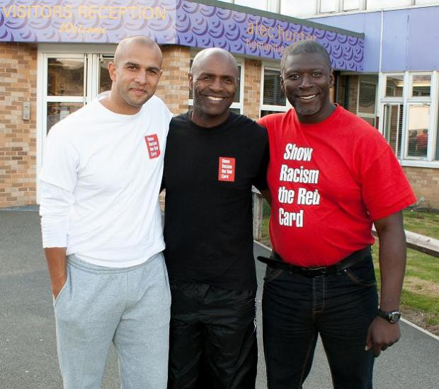 Anwar Uddin, Luther Blissett and Paul Mortimer