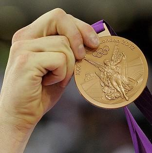 One of two bronze medals stolen from Team GB members in London has been recovered