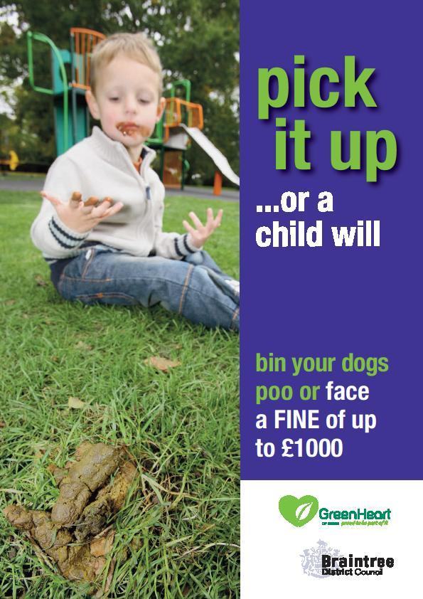 Braintree: New campaign after 412 piles of dog mess collected
