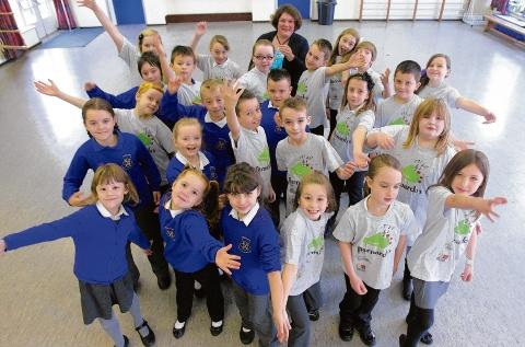 Witham: Youngsters took to the stage at The Royal Albert Hall