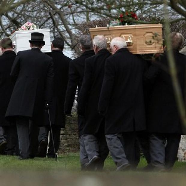 Braintree and Witham Times: The funerals of Toby, Samantha and Genevieve Day were held in January