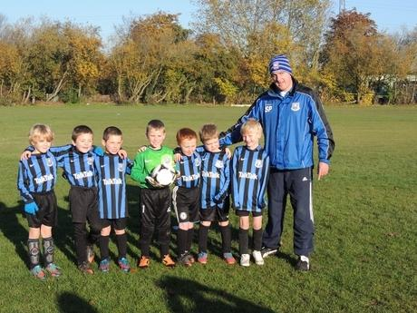 Witham: Young footballers sport new kit