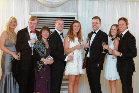 Some of the guests at Headway's Dickens ball