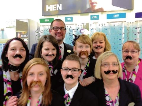 Braintree: Spec-shavers raise cash for Movember