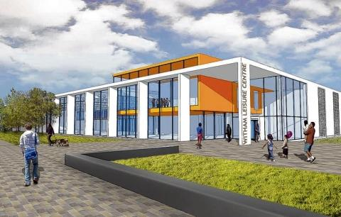 Witham: Opening of new leisure centre delayed again