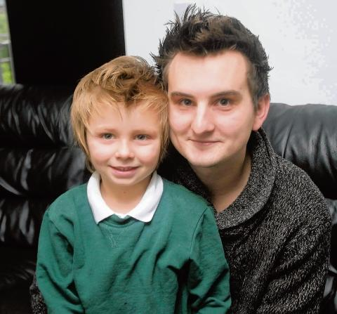 Witham: Dad fears son, 5, been left to