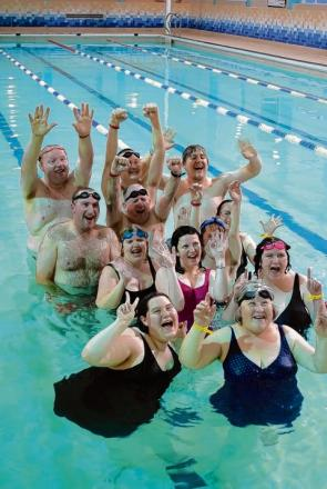 Members of Braintree Mencap recently completed a swim to raise money for the charity