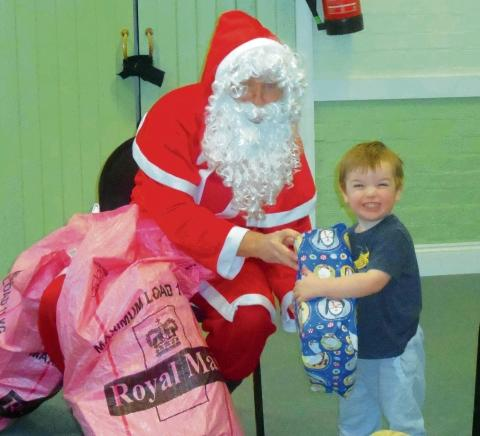 Braintree and Witham Times: Home-Start's Christmas party