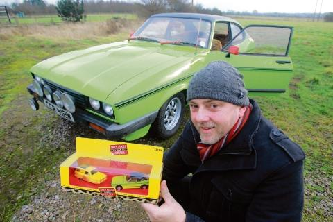 Ian Nixon and the Ford Capri