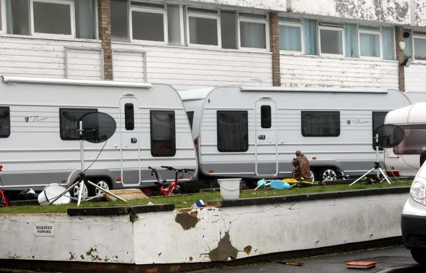 Braintree: Residents refuse to pay council tax after weeks living next to illegal travellers site