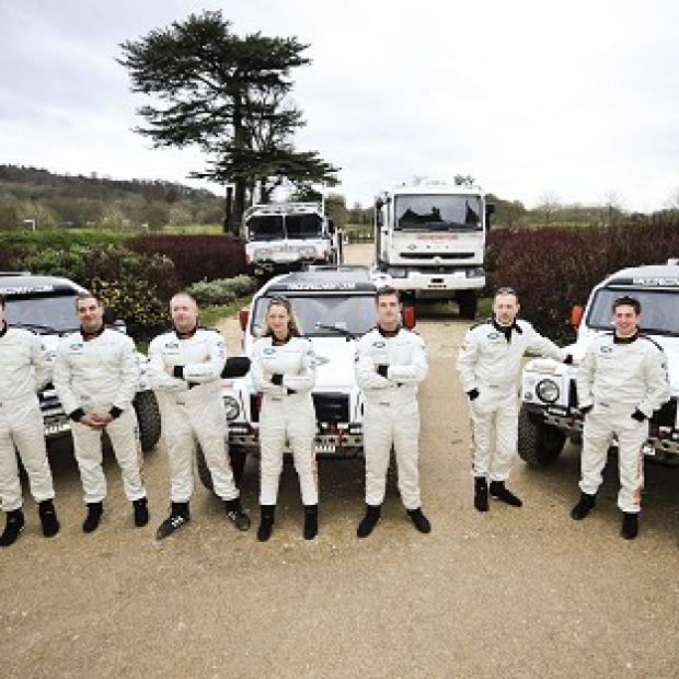 The Race2Recovery team were taking part in the Dakar Rally, billed as the world's toughest race of its kind