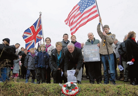 Halstead: Family of hero pilot cross Atlantic to attend remembrance ceremony