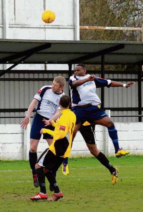 Free-scoring Swifts can't find a way past Witham