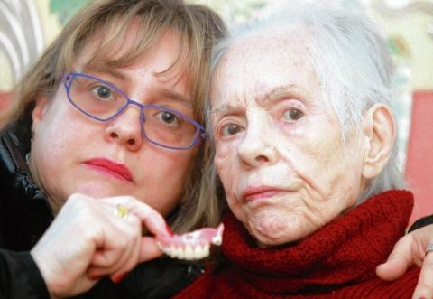 Braintree: Granny's false teeth stuck in throat for nine weeks