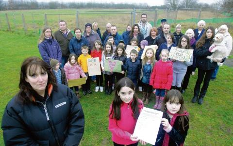 Witham: Petition against third housing bid