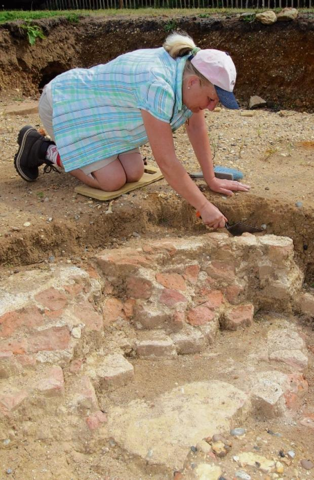 Braintree and Witham Times: A community dig took place on the site of the lost mansion last year