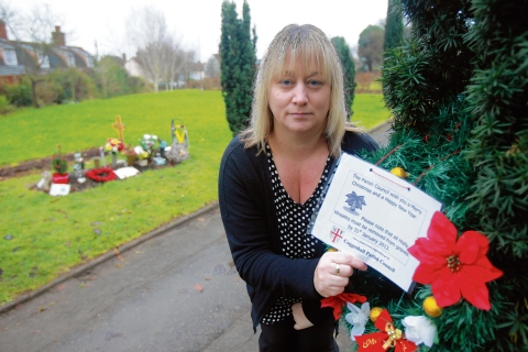 Braintree: Mother dismayed by council warnings about son's grave