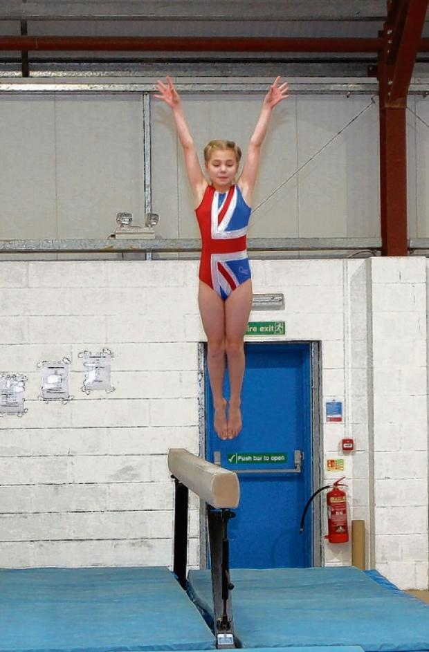 Lola Pilgrim at Gyrus Olympics Gymnastics Club
