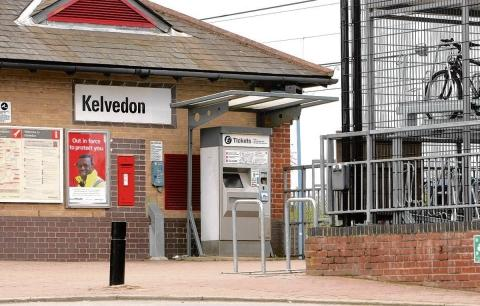 Kelvedon train station