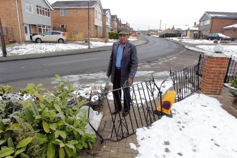Braintree: Frightened pensioner condemns speeding drivers near his home