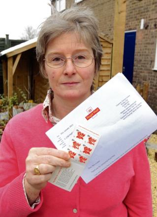 Witham: Book of stamps as compensation for lost Christmas gifts