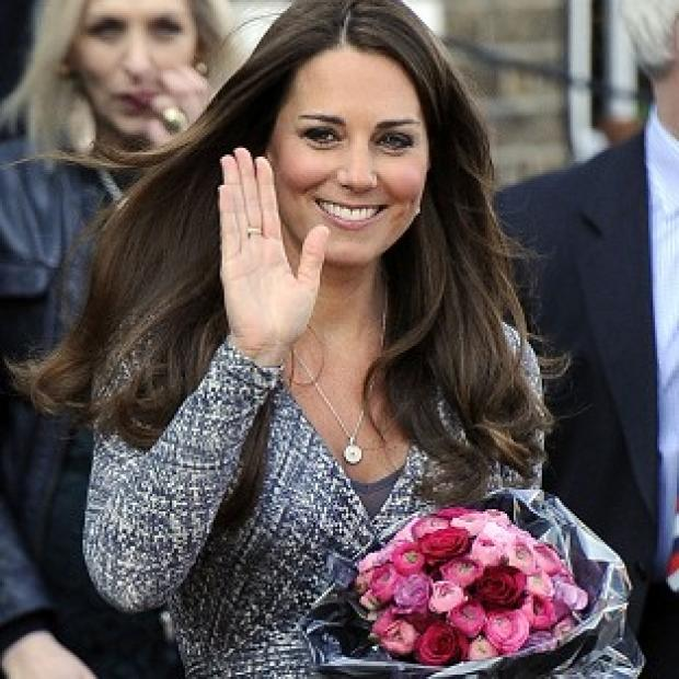 The Duchess of Cambridge pays a visit to the addiction charity Hope House treatment centre in Clapham, south London