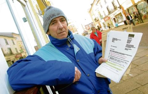 Braintree and Witham Times: Braintree: Benefit cut could kill me, claims dad